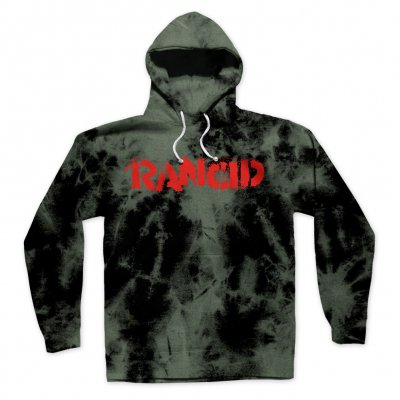 Stencil Logo Pullover Hoodie (Bleached)