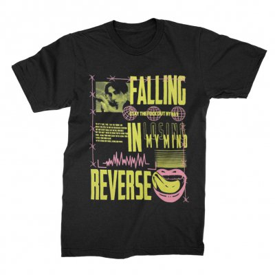 falling-in-reverse - Losing My Mind Tee (Black)