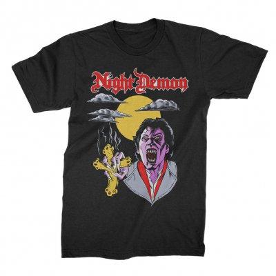night-demon - Blood Sucker T-Shirt (Black)