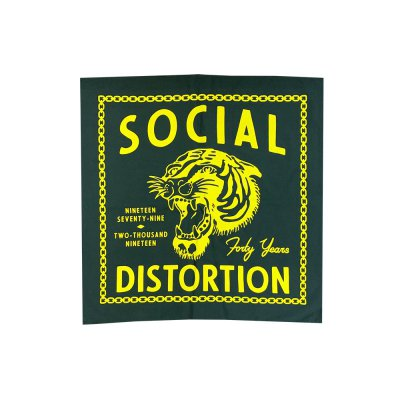 social-distortion - Tiger Bandana