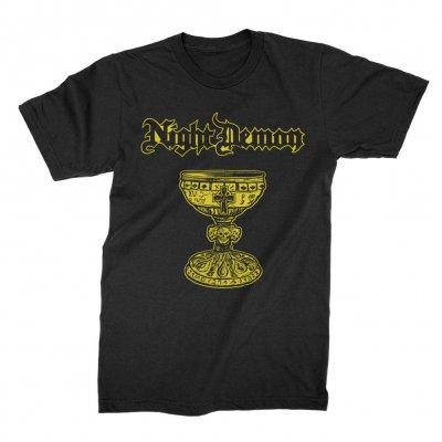 night-demon - Chalice T-Shirt (Black)