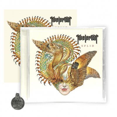 "kvelertak - Splid CD + Signed Litho (5""x5"")"