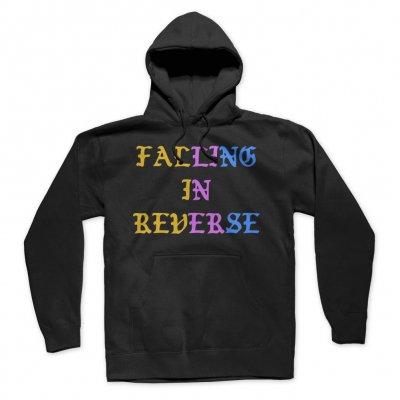 falling-in-reverse - Logo Pullover Hoodie (Black)