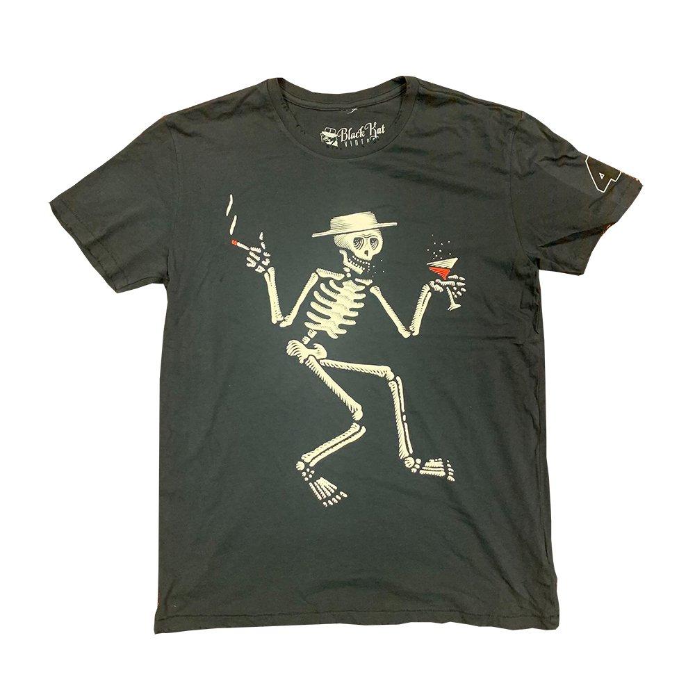 IMAGE | OG Skelly 40 Years Vintage T-Shirt (Black)