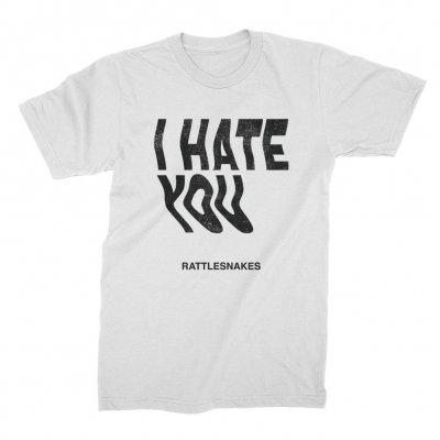 I Hate You Tee (White)