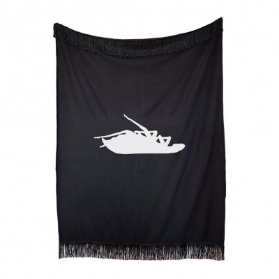 Couch Throw Blanket (Black)