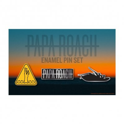 papa-roach - Who Do You Trust? Enamel Pin Set