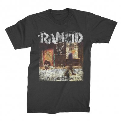 rancid - Life Won't Wait Cover T-Shirt (Dark Grey)