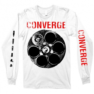 converge - The Chamber Longsleeve (White)