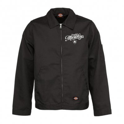 dropkick-murphys - Script Eisenhower Jacket (Black)