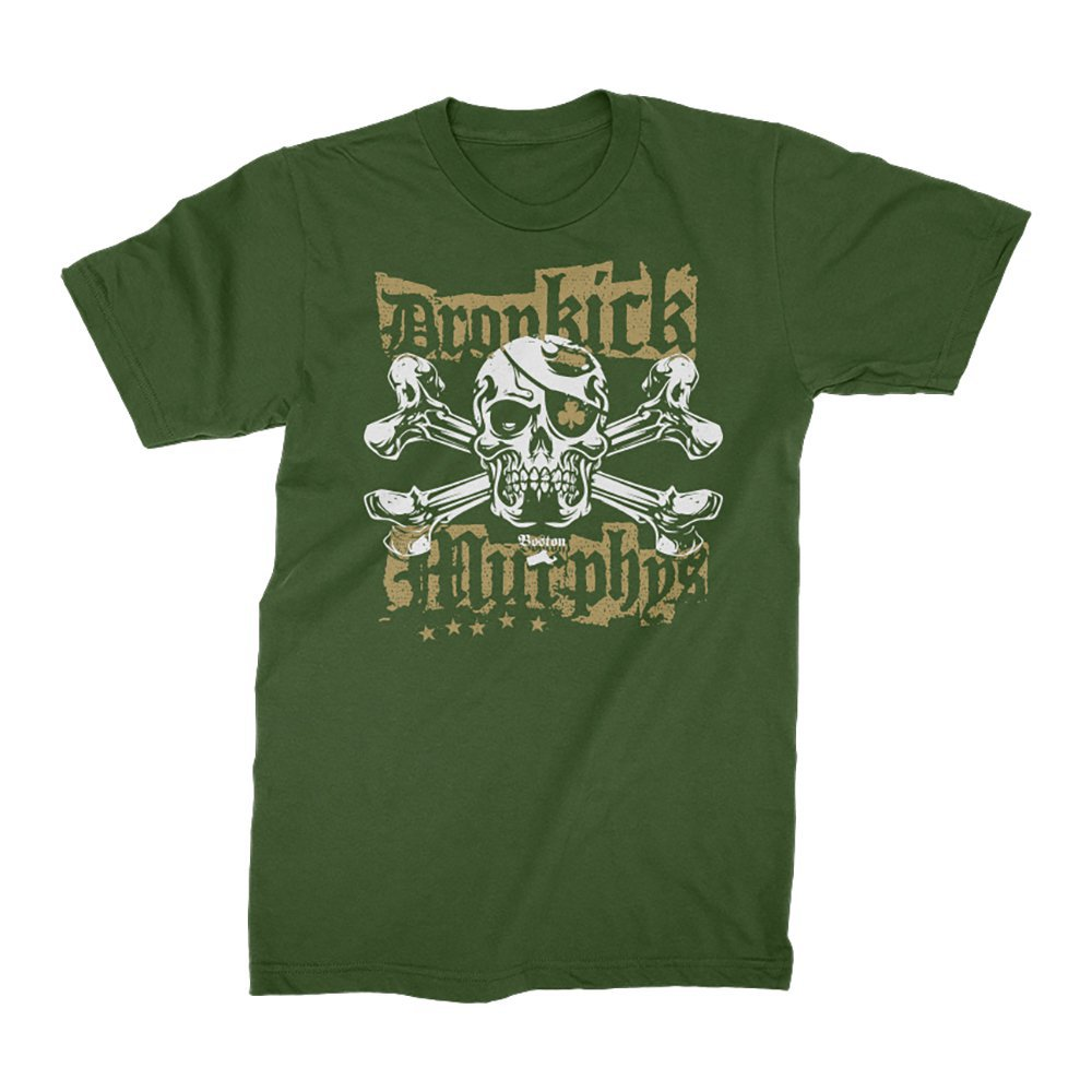 IMAGE | Punk Jolly Roger T-Shirt (Green)