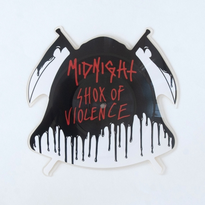 midnight - Shox Of Violence LP (Shaped Picture Disc)