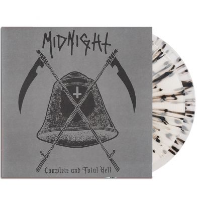 midnight - Complete And Total Hell 2xLP (Clear w/ Black & Gre