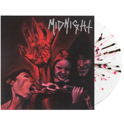 midnight - No Mercy For Mayhem LP (Multi-Splatter) with Poste