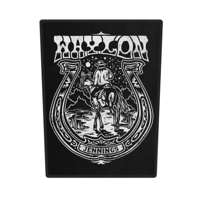 waylon-jennings - Horseshoe Back Patch