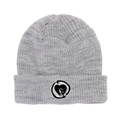 rise-against - HeartFist Beanie (Grey)