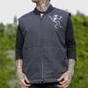 IMAGE | Skelly Work Vest (Black) - detail 3