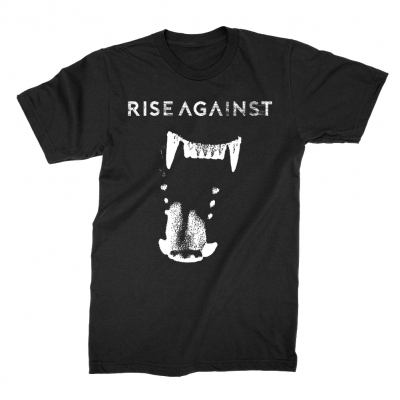 rise-against - Wolf Fang Tee (Black)