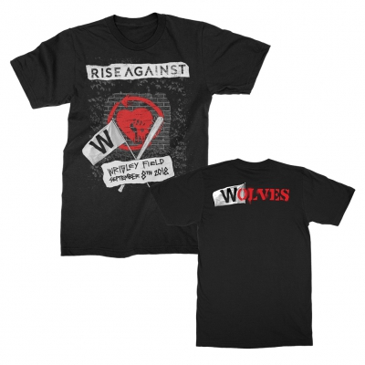 rise-against - Wrigley 2018 Tee (Black)