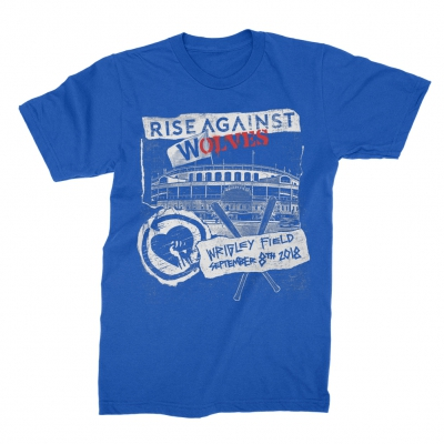 rise-against - Wrigley 2018 Tee (Blue)