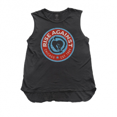 rise-against - Circle Tank Top (Black)