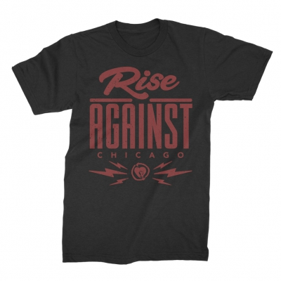 rise-against - Type Tee (Black)