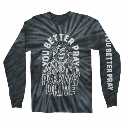 parkway-drive - You Better Pray Long Sleeve (Black Smoke Dye)