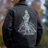IMAGE   Statue Eisenhower Jacket (Black) - detail 4