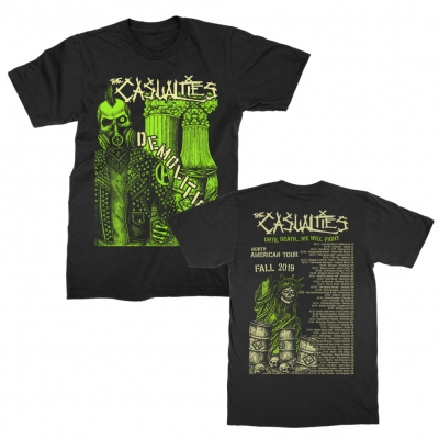 the-casualties - Demolition Tour Tee (Black)