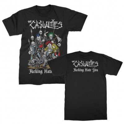 the-casualties - Hate You Tee (Black)