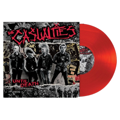 the-casualties - Until Death Studio Sessions LP(Red)