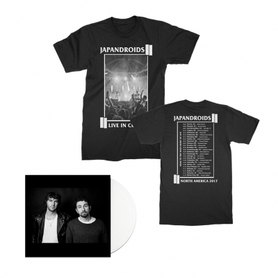 japandroids - NTTWHOL LP (White) + Tee (Black) Bundle