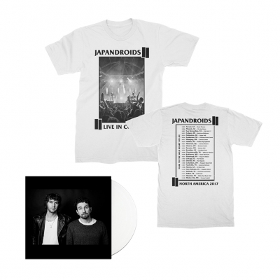 NTTWHOL LP (White) + Tee (White) Bundle