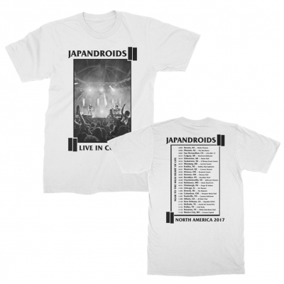 japandroids - 2017 Fall Tour Tee (White)