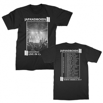 japandroids - 2017 Fall Tour Tee (Black)
