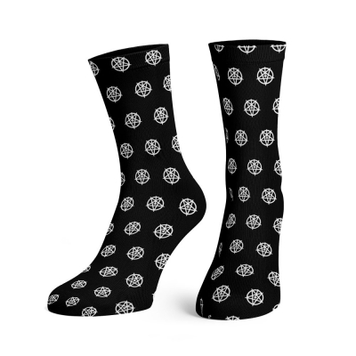 dark-funeral - Pentagram Pattern Socks