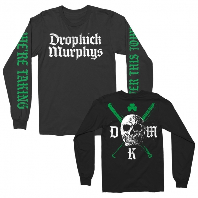 dropkick-murphys - Bats Long Sleeve Tee (Black)