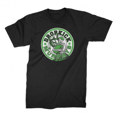 dropkick-murphys - Skelly Piper Tee (Black)