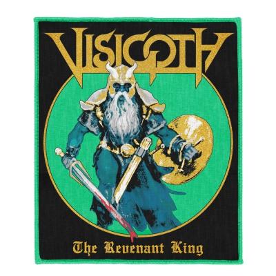 visigoth - Revenant King Woven Patch (Green Edges)