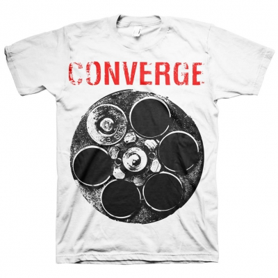converge - The Chamber Tee (White)