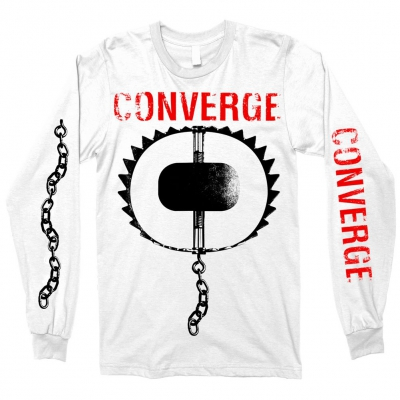 converge - The Trap Long Sleeve (White)