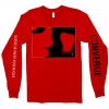 IMAGE | Love Is Not Enough Long Sleeve (Red) - detail 1