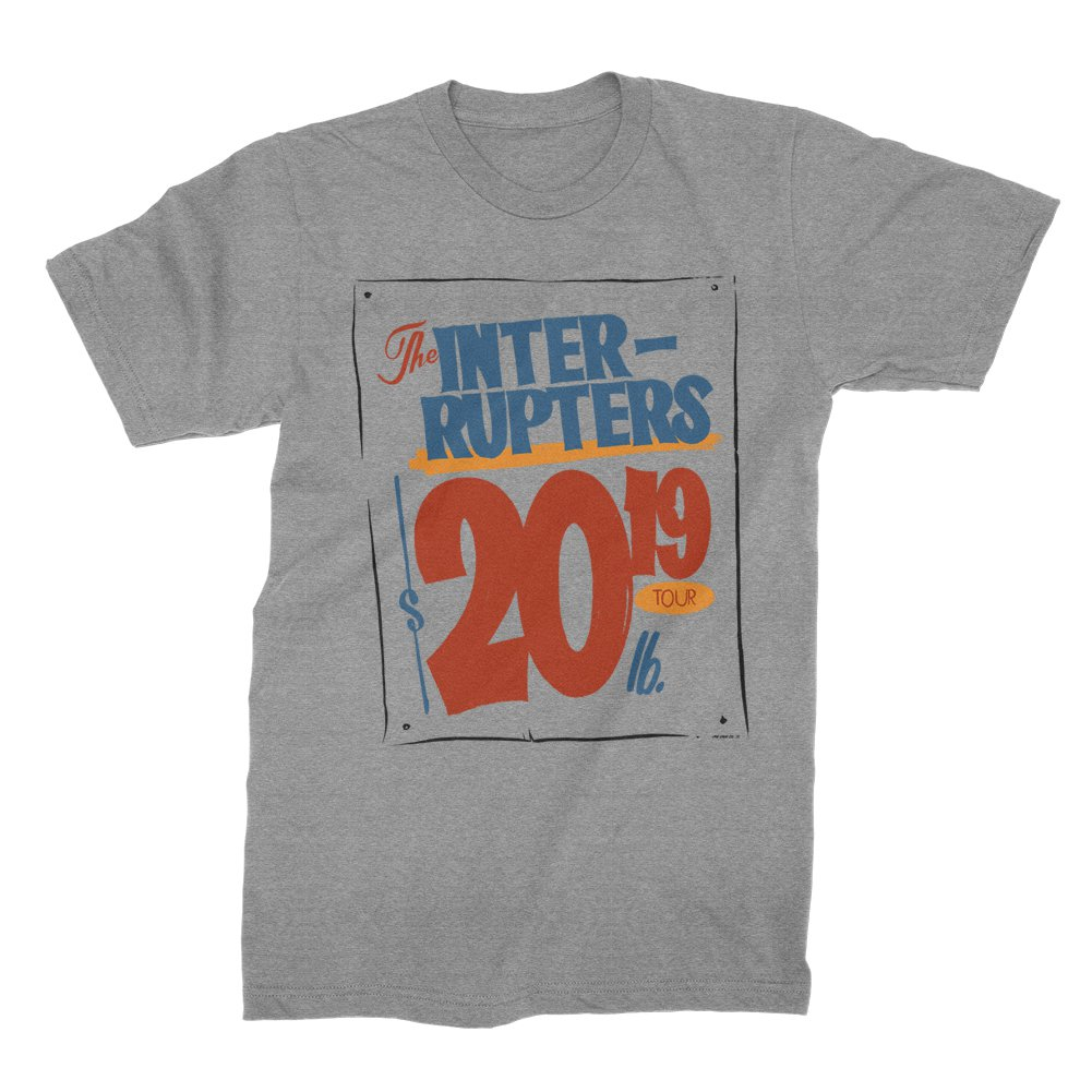 Grocery Sign 2019 Tour T-Shirt (Heather Gray)