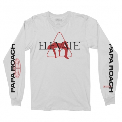 papa-roach - Elevate Long Sleeve (Natural)