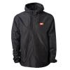 IMAGE | CT Logo Windbreaker Anorak Jacket (Black) - detail 1