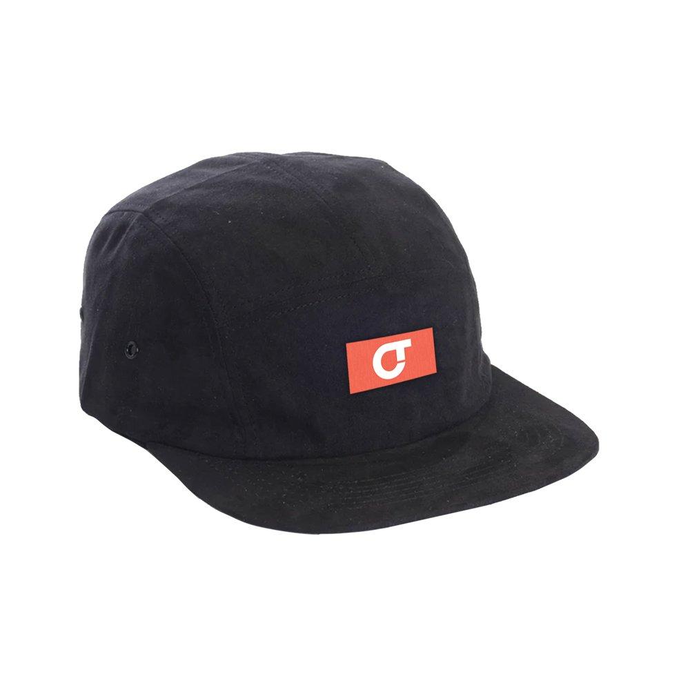 IMAGE   CT Logo Suede Hat (Black)