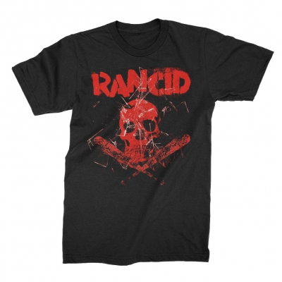 rancid - Skull / Bats T-Shirt (Black)