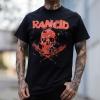 IMAGE | Skull / Bats T-Shirt (Black) - detail 2