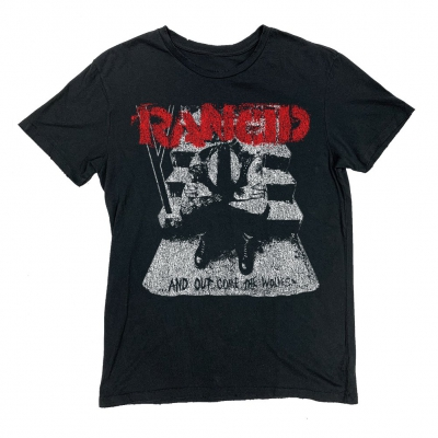 rancid - AOCTW Vintage T-Shirt (Antique Black)