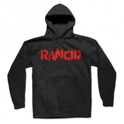 rancid - Stencil Logo Pullover Hoodie (Black)